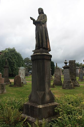 James Guthrie (minister) - James Guthrie by Alexander Handyside Ritchie, Valley Cemetery, Stirling 1857