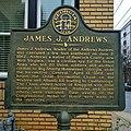 James J. Andrews historical marker.jpg