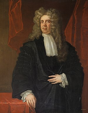 Sir James Stewart (Lord Advocate) - Portrait of Sir James by John Baptist Medina