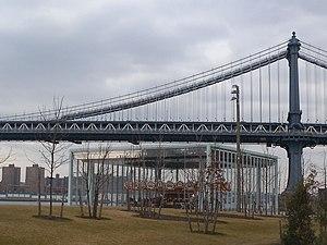 Jane's Carousel - Brooklyn building
