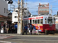 Japanese New Year of Sumiyoshi Station Osaka (01) IMG 8733 R 20150103.JPG