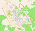 Jasień (powiat żarski) location map.png