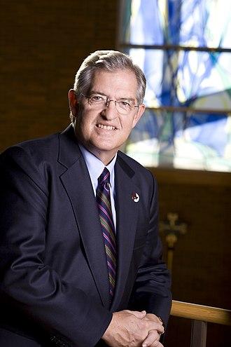 Bellarmine University -  Dr. Joseph J. McGowan, long-time Bellarmine president