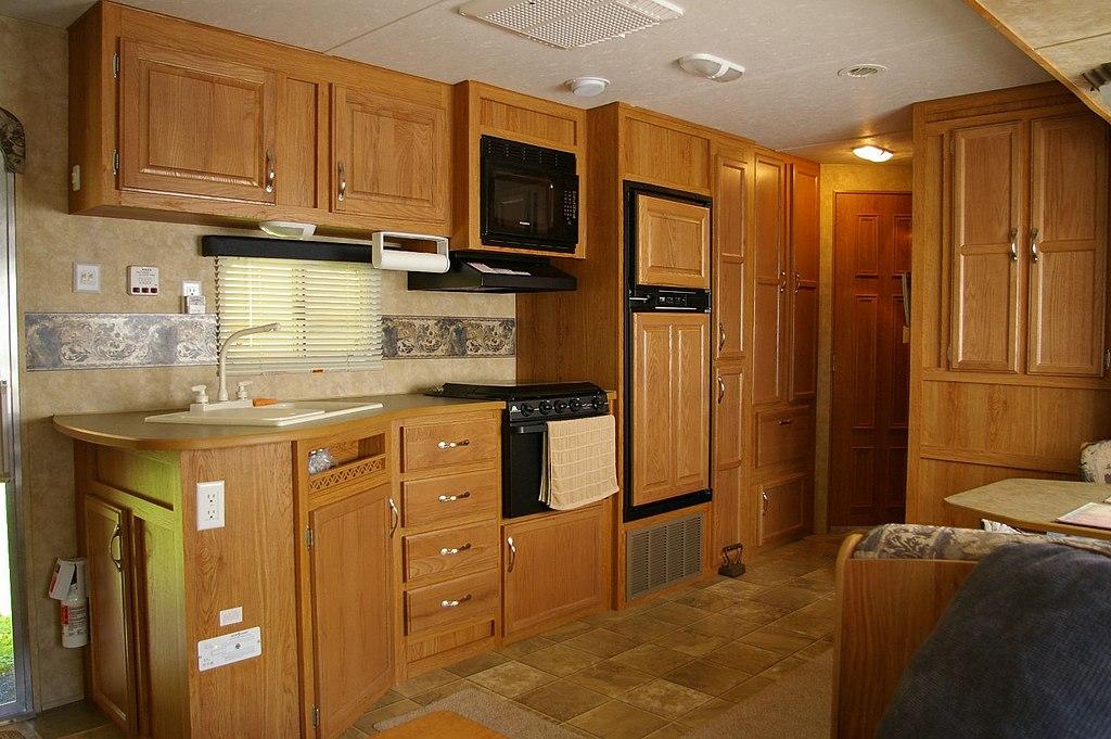 Slide Out Kitchen Cabinet Storage Mobile Home