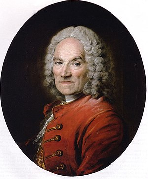 Jean-Louis Lemoyne - Portrait of Jean-Louis Lemoyne by Louis Tocqué - private collection