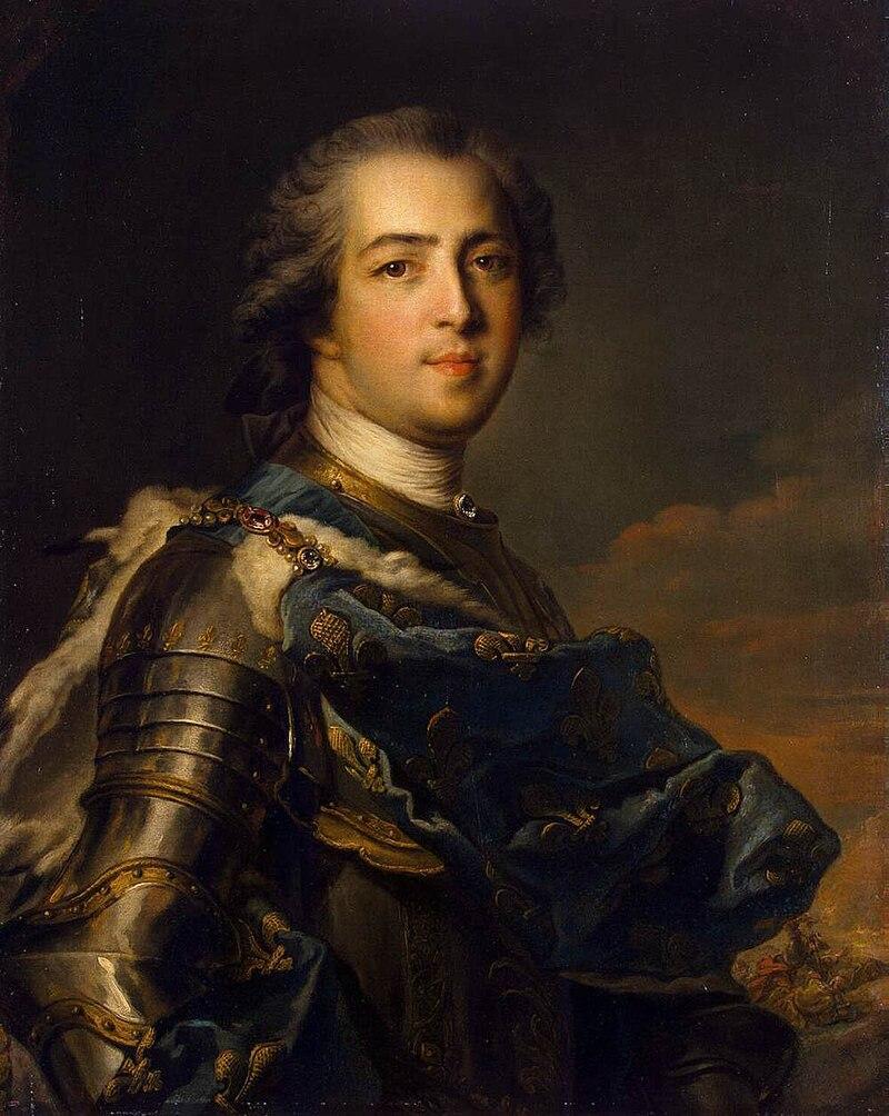 Жан-Марк Натье, портрет де Луи XV (мюзе де Л'Ермитаж).Формат JPG