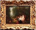 Jean-antoine watteau e jean-baptiste pater, ritrovo pastorale, 1718-21, 01.jpg