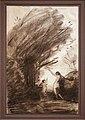 Jean-baptiste-camille corot, venere che disarma cupido, 1857 ca.jpg