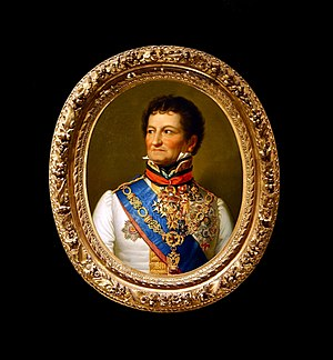 Treaty of Munich (1816) - The Austrian negotiator and signatory at Munich, the Baron de Wacquant-Geozelles