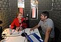 Jefa de Estado dio entrevista a radio Parinacota (29690414654).jpg