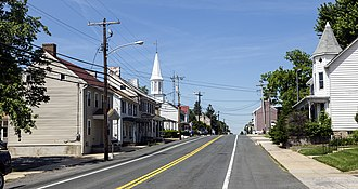 Jefferson, Maryland - The center of Jefferson