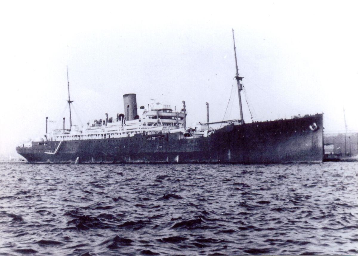 HMS Jervis Bay in Dakar, 1940