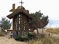 Jesus shrine in Sopot harbour.jpg