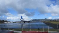 File:JetBlue Departure - St. Maarten Princess Juliana Airport.webm