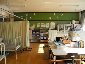 School nursing - Japanese School nurse's room