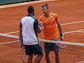 Jo-Wilfried Tsonga & Jarkko Nieminen - Roland-Garros 2013.jpg