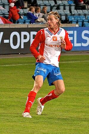 Jo Inge Berget - Jo Inge Berget playing for Lyn in 2009.