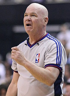Joey Crawford American basketball referee