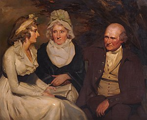 John Johnstone (East India Company) - Image: John johnstone betty johnstone and miss wedderburn