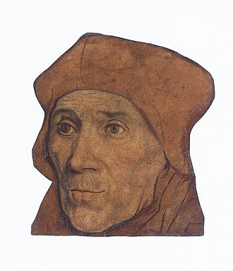 Pounce (art) - Image: John Fisher, Bishop of Rochester, after Hans Holbein the Younger