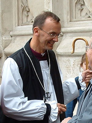 John Inge - Inge after his consecration at Westminster Abbey in 2003