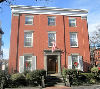 Timeline of Brooklyn - John Rankin House at 440 Clinton Street, constructed in 1840