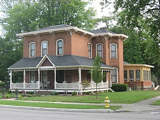 National Register of Historic Places listings in Fulton County, Ohio - Image: Jones Read Touvelle House