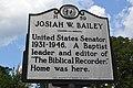 Josiah W. Bailey historical marker.jpg
