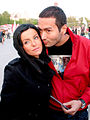 Julia Volkova and Parviz 2008.jpg