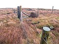 Junction of three fences near Fell Pot Hole - geograph.org.uk - 640717.jpg