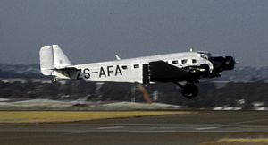 50 Squadron SAAF - Image: Junkers Ju 52 3m ZS AFA