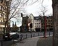 Köln-Ecke-Friesenstraße-Römermauer-und-Turm-St-Apernstraße.JPG