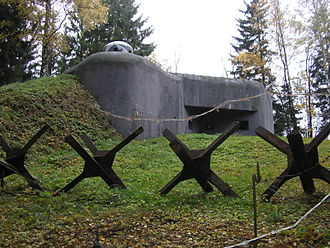 Czechoslovak border fortifications - K-S 5 U potoka