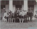 KITLV - 7823 - Lambert & Co., G.R. - Singapore - The Rajas of Negeri Sembilan and their retinue - circa 1900.tif