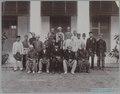 KITLV - 7823 - Lambert & Co., G.R. - Singapore - The Rajas of Negeri Sembilan and their retinue - circa 1900.tif