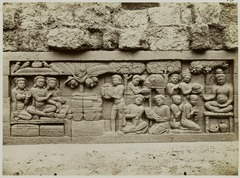 KITLV 28079 - Kassian Céphas - Relief of the hidden base of Borobudur - 1890-1891.tif