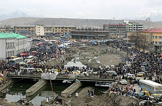 Kabul River - Image: Kabul City Traffic