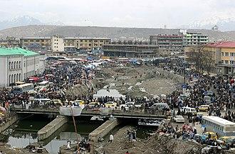 Kabul River - Image: Kabul City Traffic