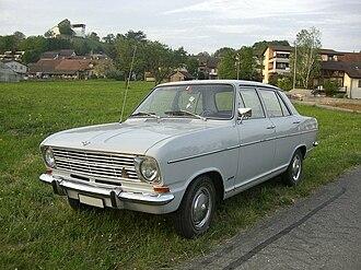 Opel Kadett B - Image: Kadett 1700 Front