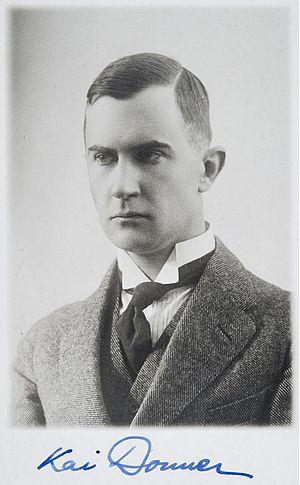 Kai Donner - Kai Donner in 1916.