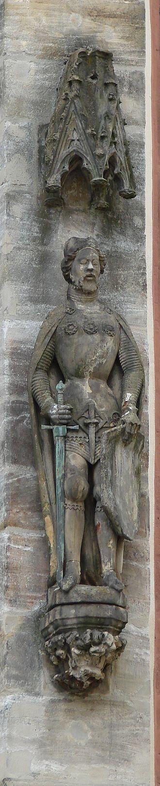 Bohemian Palatinate - Image: Kaiser Karl IV