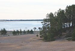 Sandy beaches of Kalajoki
