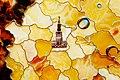 Kaliningrad Amber Combine Museum Ambers Russia Map fragment.jpg
