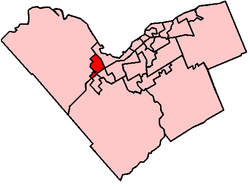 Location within Ottawa