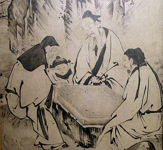 History of Go - Image: Kano Eitoku 010