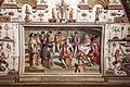 Karel van mander e aiuti, sala di fetonte, 1574-77, scene della notte di san bartolomeo, gaspard de coligny agli accordi nuziali 02.jpg