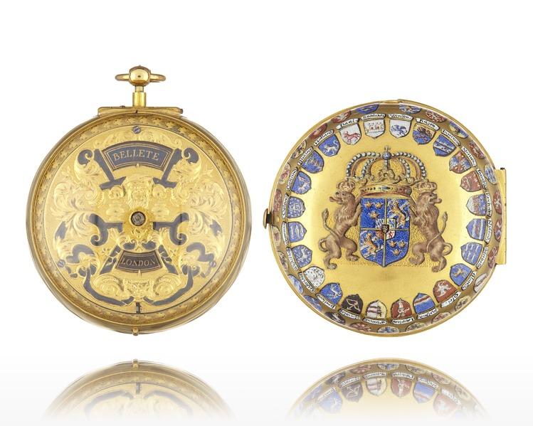 File:Karl XIIs ur från 1701 - Livrustkammaren - 98878.tif