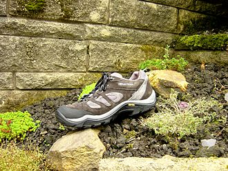 Hiking boot - A Karrimor hiking trainer.