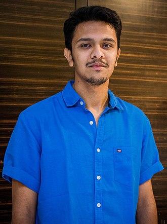 Karthick Naren - Image: Karthick Naren at Kadugu Movie Premiere