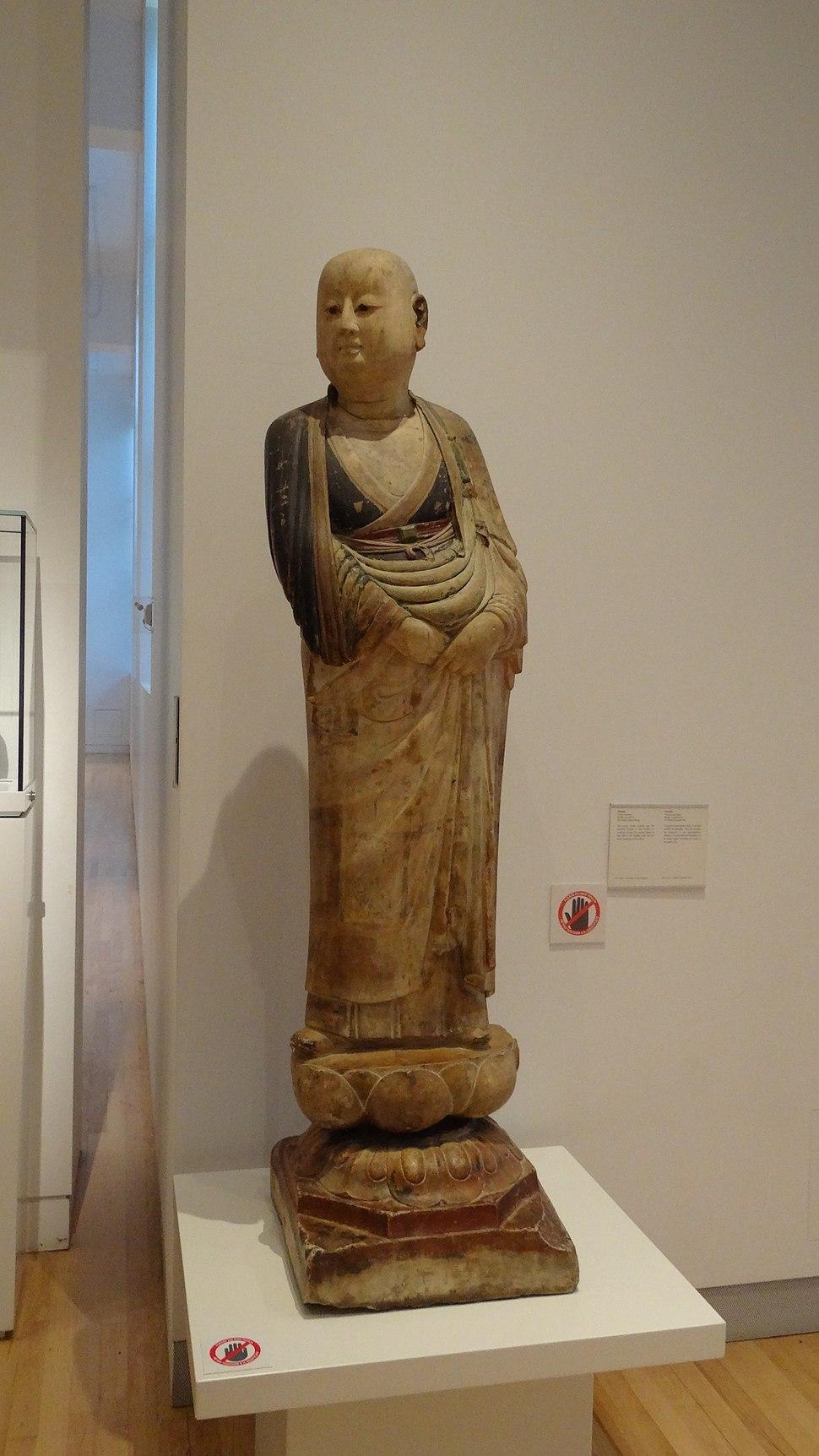Kashyapa and Ananda, Southeast Asia Gallery, Royal Ontario Museum, Kashyapa front